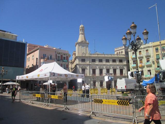 Hiszpania, Reus, Costa Dorada, Tarragona, Placa del Mercadal