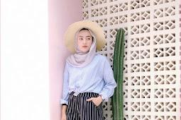 32 Pilihan Outfit Celana Kulot Untuk Hijabers Ala Selebgram 2019