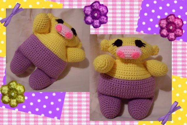 free crochet amigurumi hippo pattern