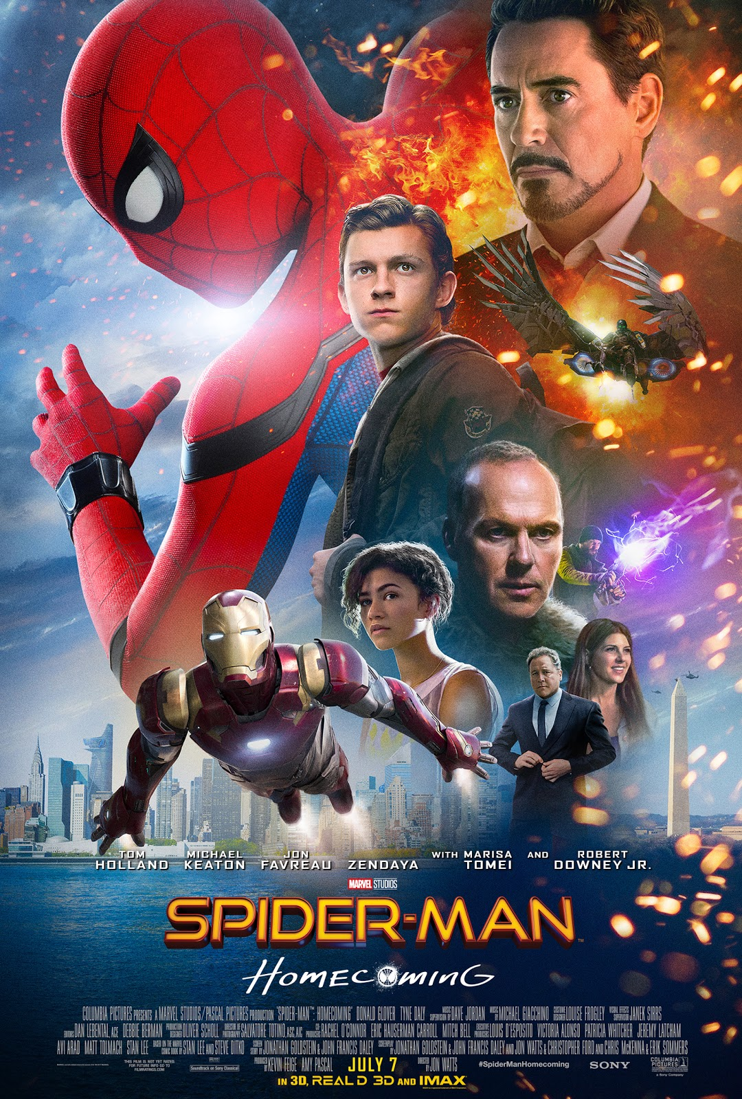 Spider-Man Homecoming poster