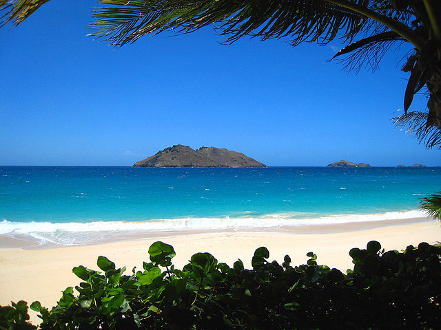 Best Island Beaches For Partying Mykonos St Barts: The Caribbean Eye: Flamands Beach, St. Barts