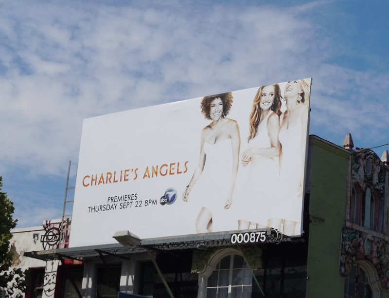 Charlie's Angels 2011 billboard