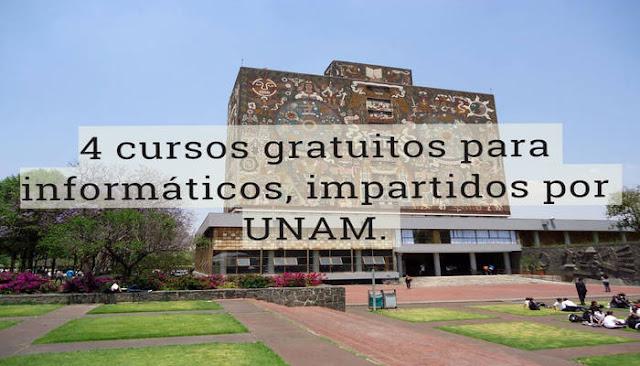 cuatro-cursos-informáticos-UNAM