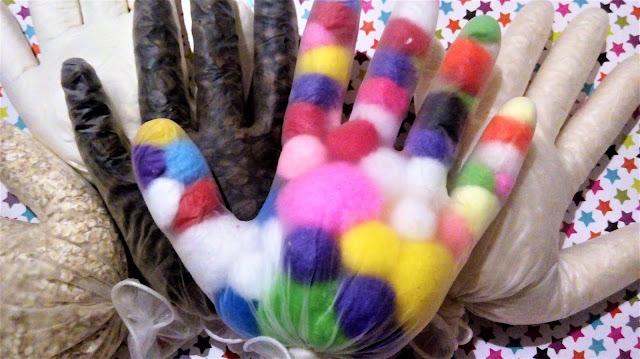 zabawki diy dla dzieci, zabawki sensoryczne, zabawki do zrobienia samemu w domu integracja sensoryczna