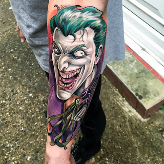 tatuaje de The Joker