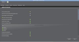 Porthole gerenciador gráfico de programas do Linux Calculate