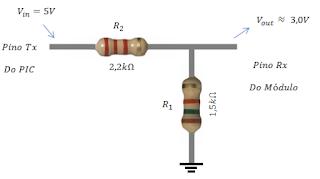 Conversor de 5V para 3,3V