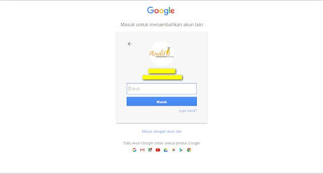 Cara Merubah Password Gmail Dengan Mudah-anditii.web.id