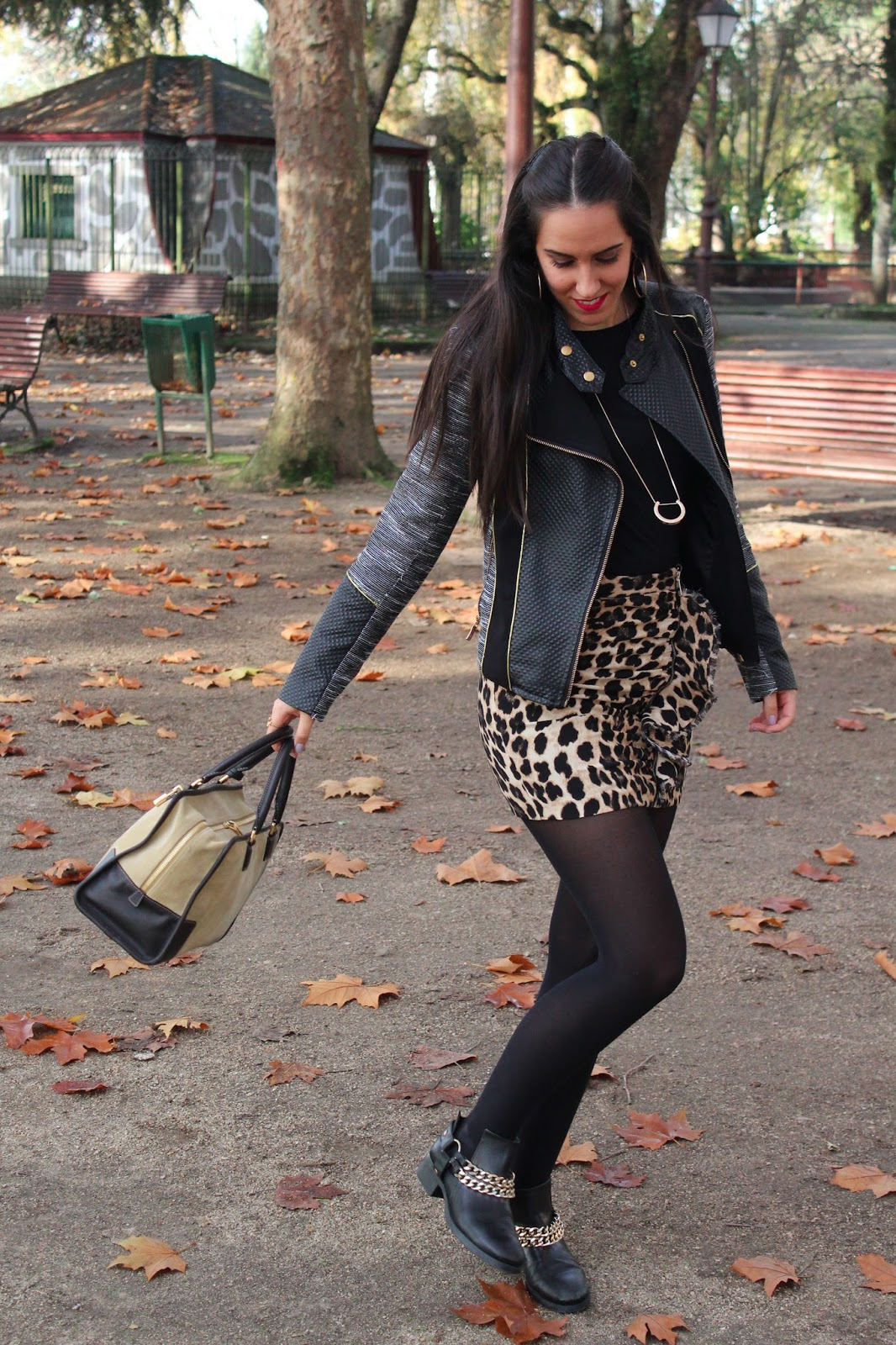 look-animalprint-zara-outfit-fashion-moda