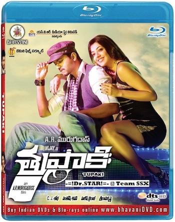 Thuppakki (2015) Download South Hindi HD DVDrip Movie in 480px 500mb MKV