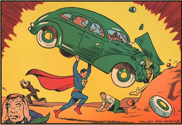 Superman and the Car by Kerry Callen