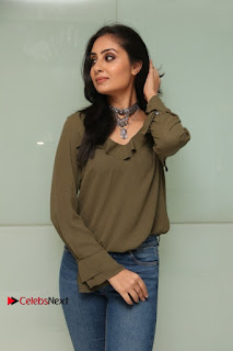 Actress Bhanu Sri Mehra Latest Pos in Jeans at Simba Audio Launch  0013.jpg