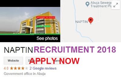 NAPTIN Recruitment 2018/2019 | Application Form – www.naptin.gov.ng