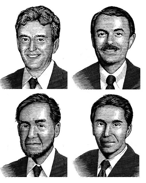 スクラッチイラスト、男性の顔、リアルイラスト、人物イラスト、スクラッチイラスト