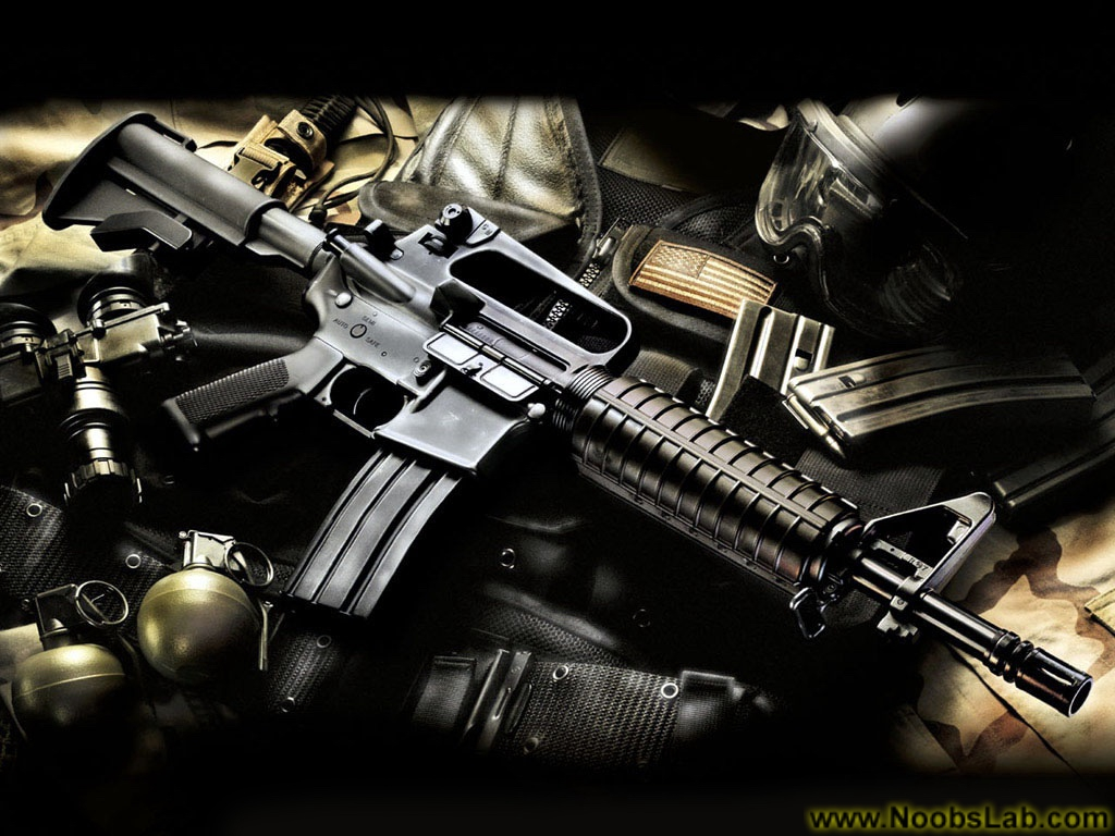 HD Guns Wallpapers - NoobsLab | Tips for Linux, Ubuntu, Reviews, Tutorials, and Linux Server