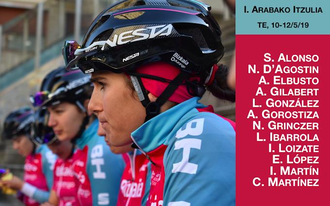 El equipo Bizkaia - Durango, desde el viernes en la Arabako Itzulia