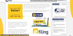 Cara Lapor SPT Tahunan Pajak Online via e-Filing