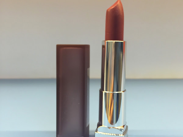 Review: Maybelline Color Sensational Creamy Matte Lipstick in Touch of Spice