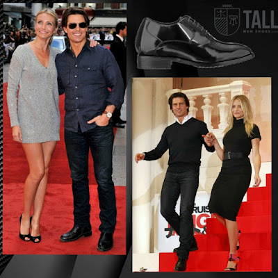 Tom Cruise and Cameron Diaz - Elevator Shoes