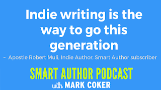 "image reads:  ""Indie writing is the way to go this generation"""