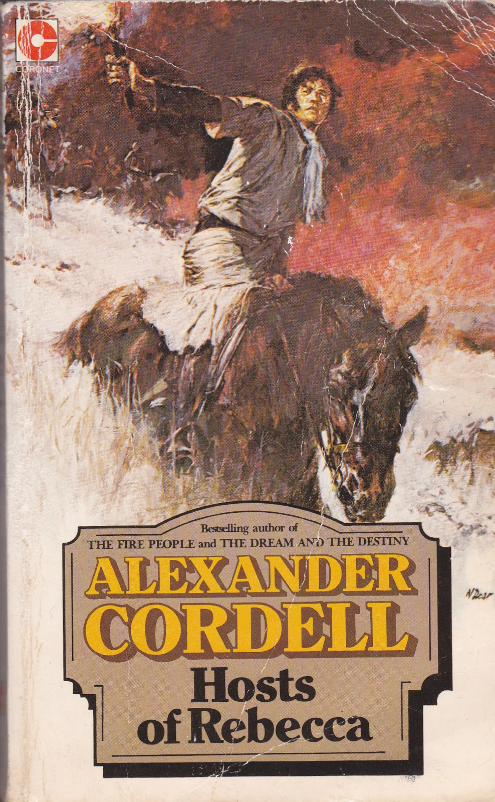 Cover of Coronet Books, published 1984. First published 1960
