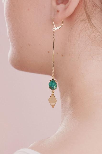1. Un bijou fabriqué à la main de la créatrice Sandrine Devost