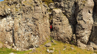 Skóciai kirándulás a sziklás Whangie-ben