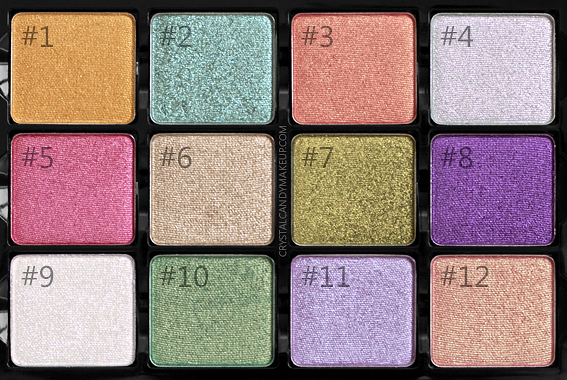 Viseart Coy Eyeshadow Palette Review Photos