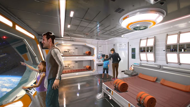 Quarto do Hotel de Star Wars na Disney Orlando