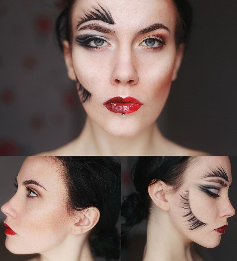 Hirsute Fox Halloween Makeup