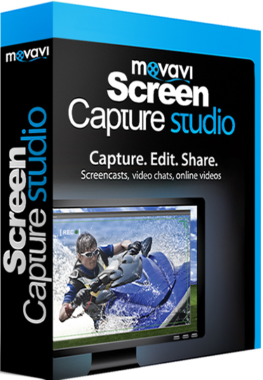 Movavi Screen Capture Studio 9.3.0 poster box cover
