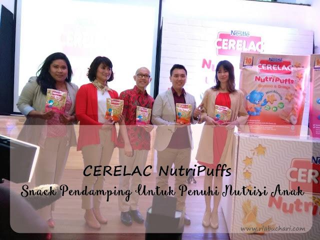 CERELAC NutriPuffs, Snack Pendamping Untuk Penuhi Nutrisi Anak