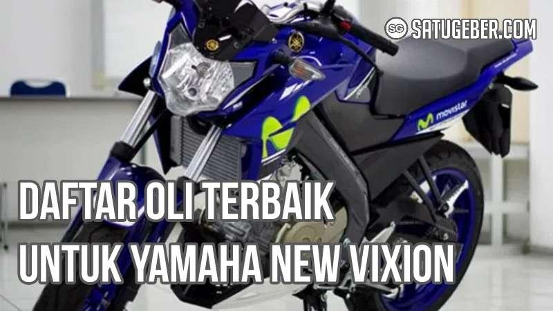 gambar oli mesin new Vixion