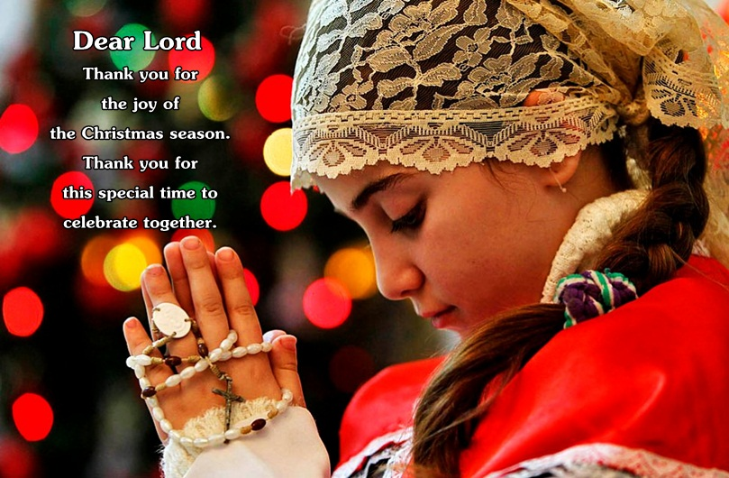 Merry Christmas Prayers Image