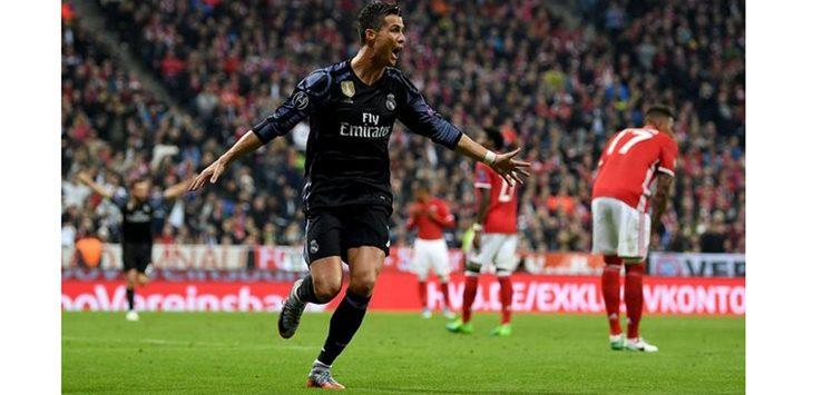 Ronaldo Menjadi Pahlawan Real Madrid Untuk Kemenangan Di Allianz Arena