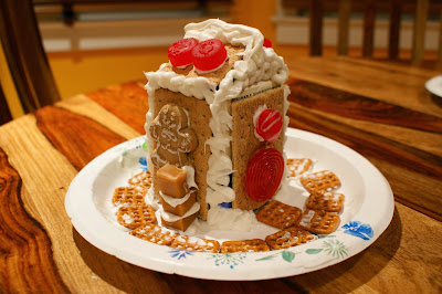 DIY Easy Milk Carton Gingerbread House
