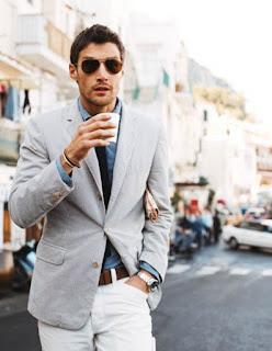 model blazer pria paling keren