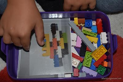 einfaches Lego Spiel zum mitnehmen