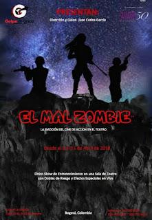 Poster El Mal Zombie