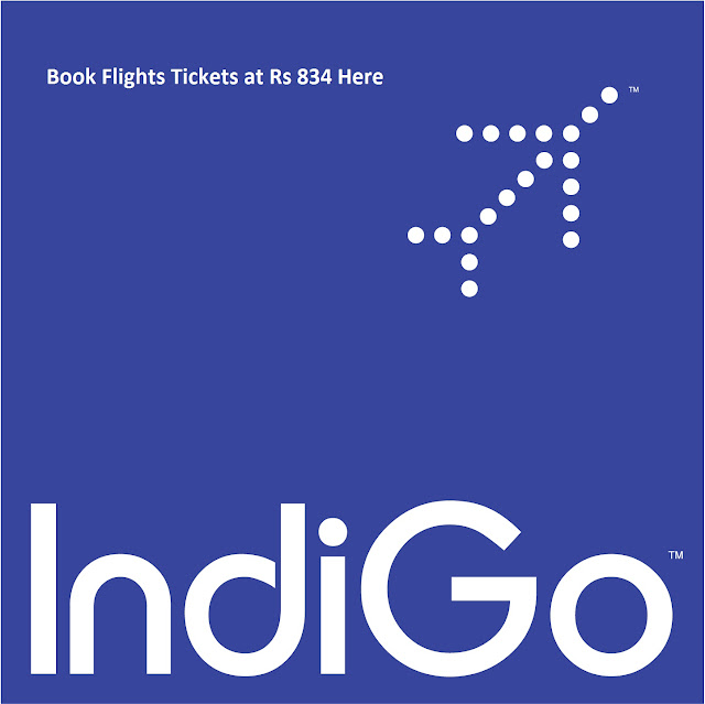 Rs: 867 IndiGo Promotional Offer Book Flights Online for Domestic