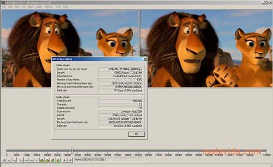 VirtualDub - 11 Software Video Editor Terbaik Untuk Windows