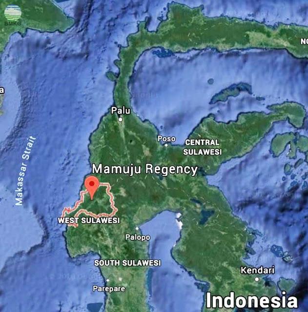 Gambar Peta Lokasi Tide Gauge Mamuju