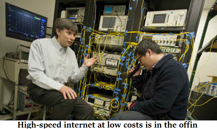 High-speed internet at low costs is in the offin