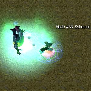 bleach vs one piece rukia Hado #33: Sokatsui