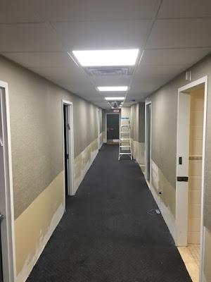 Hallway Wallpaper NY