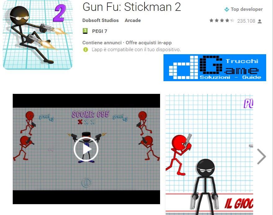 Trucchi Gun Fu: Stickman 2 Mod Apk Android v1.15.2