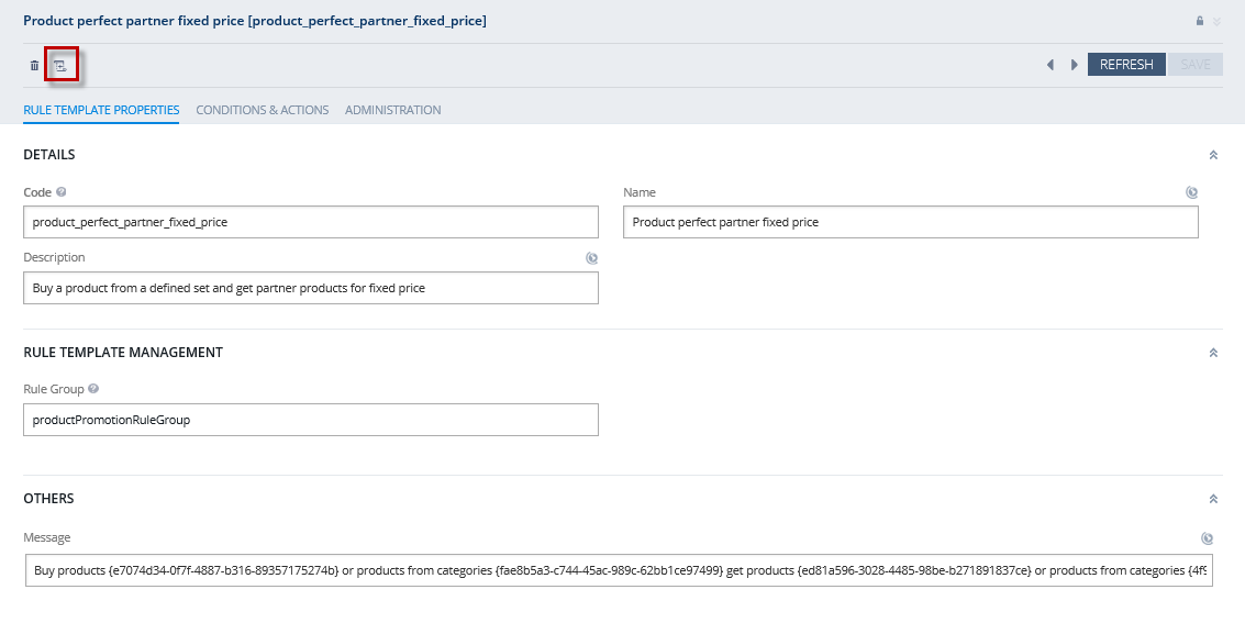Sap customer engagement sap hybris commerce promotion engine hybris has now created a promotion rule for you based on the selected hybris template from here you can customize the promotion rule to your needs pronofoot35fo Images