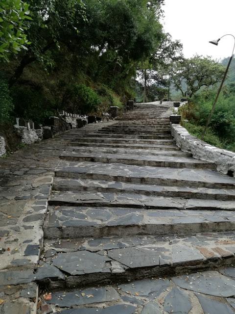 Escadaria para o Santuário de Nossa Senhora da Piedade