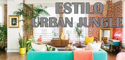 estilo decorativo urban jungle