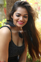 Aswini in lovely Deep Neck Sleeveless Black Dress Spicy Pics ~  Exclusive 16.JPG